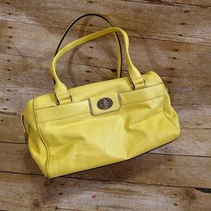 Kate Spade Yellow Satchel Handbag